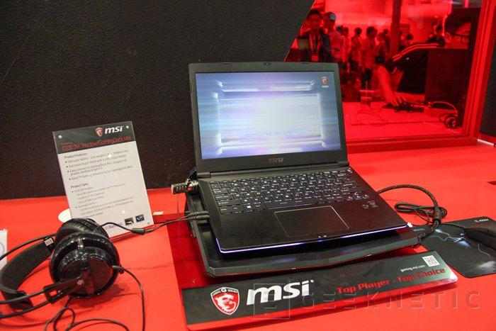 MSI refina el concepto de gráfica externa con el nuevo GamingDock Mini para el GS30 2M Shadow, Imagen 1