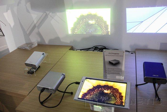 ASUS E1Z, un proyector para dispositivos móviles, Imagen 2