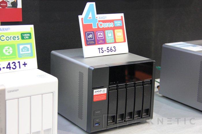 QNAP quiere hacer más asequibles los NAS de 5 bahías con el Turbo NAS TS-563, Imagen 1
