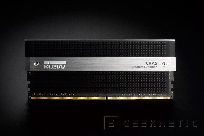 Klevv se quiere hacer un hueco en el mercado con sus memorias gaming Cras DDR4, Imagen 2
