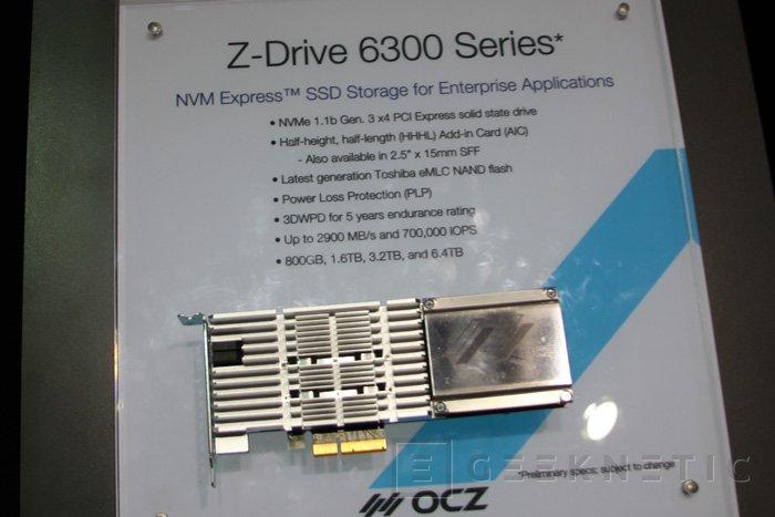 OCZ Trion 100 y Z-Drive 6300 NVMe, Imagen 1