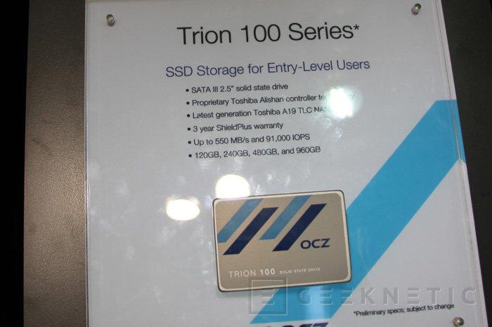 OCZ Trion 100 y Z-Drive 6300 NVMe, Imagen 2