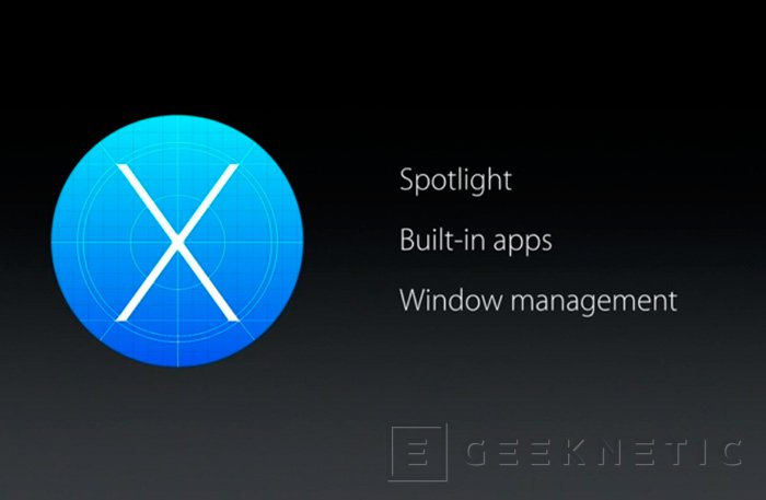 Apple desvela OS X El Capitan, Imagen 1