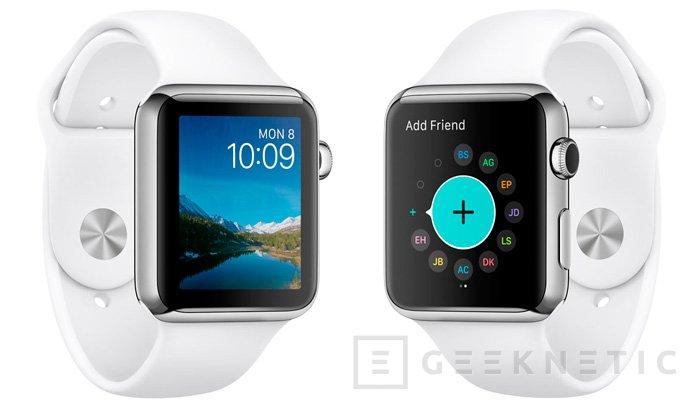 El Apple Watch ya soporta aplicaciones nativas con WatchOS 2, Imagen 1