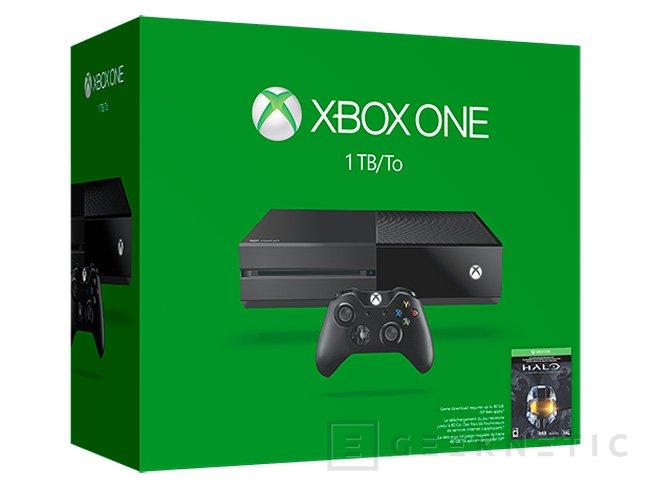 Microsoft lanza una Xbox ONE con 1 TB de disco duro y un nuevo mando, Imagen 1
