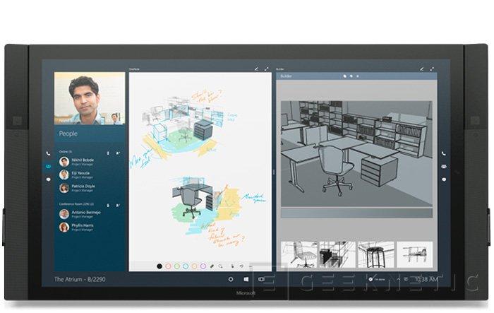 La Microsoft Surface Hub costará 7.000 Dólares, Imagen 2