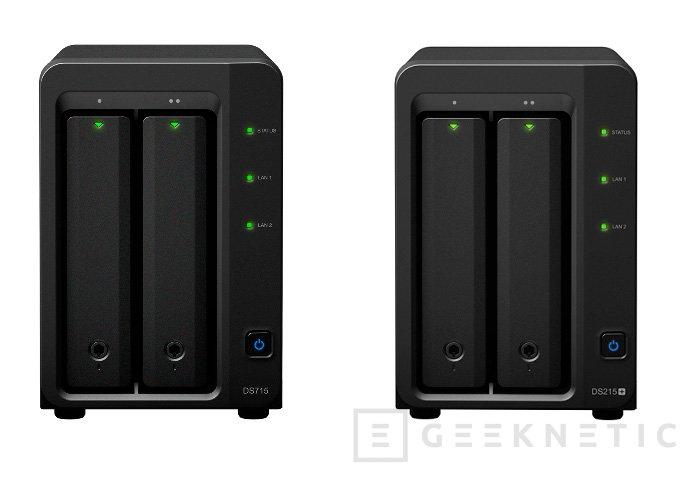 Synology desvela los NAS DS715 y DS215+ para pequeñas empresas, Imagen 1