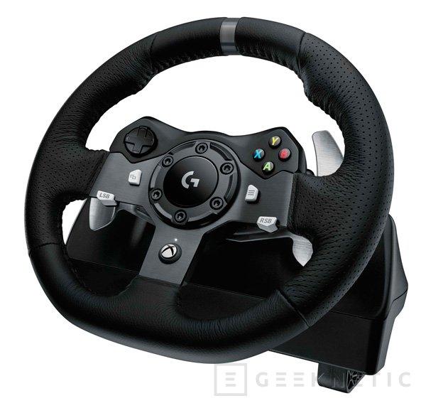 Logitech presenta su nuevo volante G920 Driving Force para PC y Xbox One, Imagen 1
