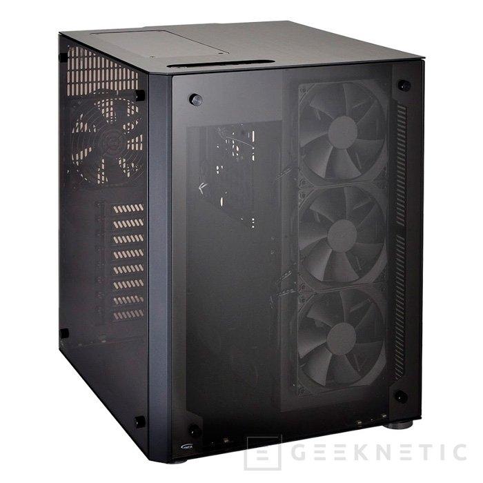 Llega la torre Lian Li PC-O8 con doble compartimento y luces RGB, Imagen 1