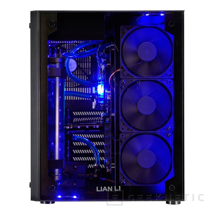 Llega la torre Lian Li PC-O8 con doble compartimento y luces RGB, Imagen 3