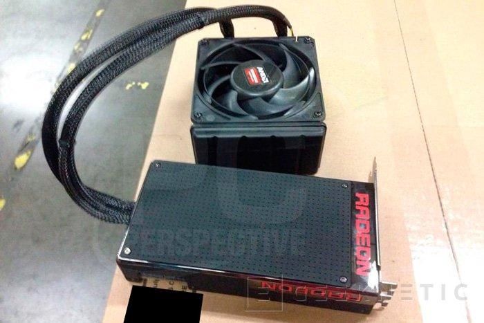 Nuevas imágenes de la Radeon R9 Fury X, Imagen 2