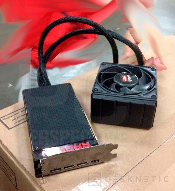 Nuevas imágenes de la Radeon R9 Fury X, Imagen 3