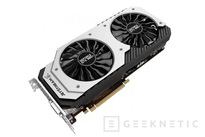 Palit ya tiene su GeForce GTX 980 Ti Super JetStream, Imagen 1