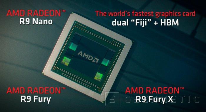 AMD lanzará una gráfica con dos GPU Fiji y memorias HBM, Imagen 1