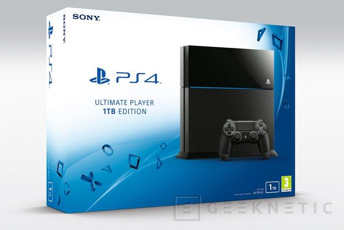 La PlayStation 4 sigue los pasos de la Xbox One con una versión de 1 TB, Imagen 1