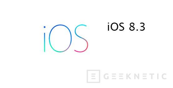 Ya se puede realizar Jailbreak a iPhones y iPads con iOS 8.3, Imagen 1
