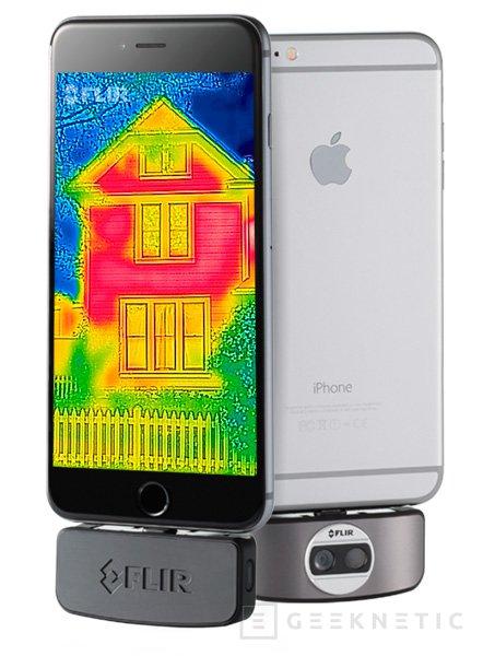 FLIR lanza una nueva versión mejorada de su cámara térmica para smartphones, Imagen 1