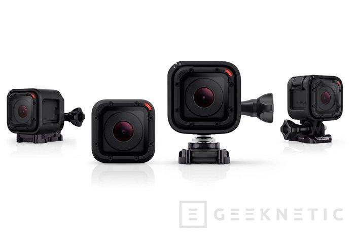GoPro lanza su mini cámara HERO 4 Session, Imagen 1
