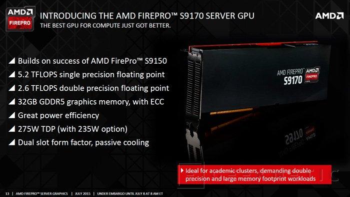 AMD lanza la FirePro S9170 con unos impresionantes 32 GB de memoria GDDR5, Imagen 2