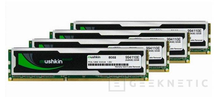 Nuevas memorias Mushking ECO2 DDR3L de bajo coste, Imagen 1