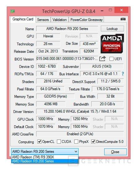 Las Radeon R9 300 son compatibles con las R9 200 en Crossfire, Imagen 1