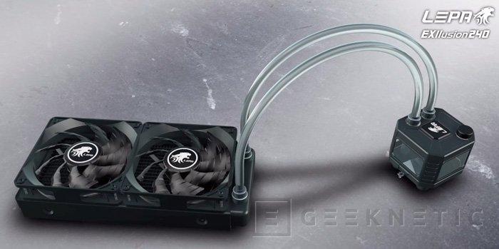 Lepa EXllusion 240, una refrigeración líquida compacta capaz de disipar 400W, Imagen 1
