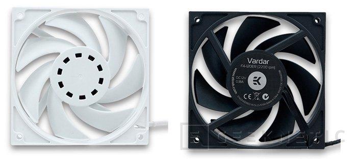 EK presenta los nuevos ventiladores EK-Vardar F4-120ER para refrigeraciones líquidas, Imagen 1