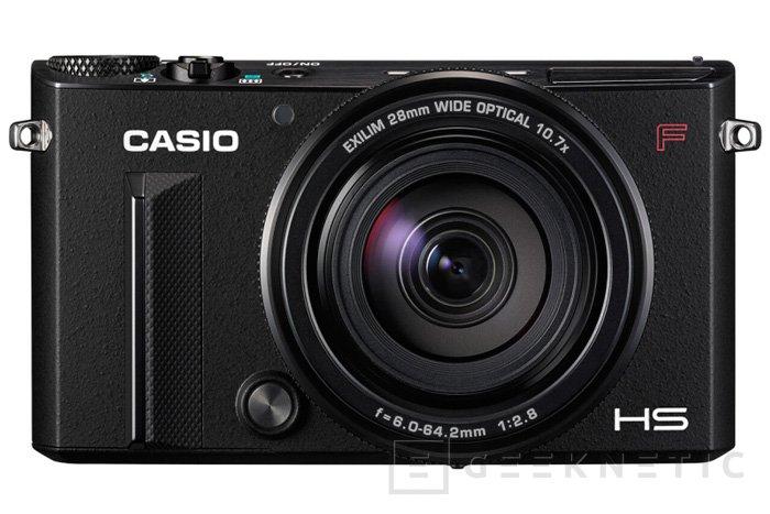 La Casio EX-100F podrá sacar ráfagas continuas de 60 fotos por segundo, Imagen 1