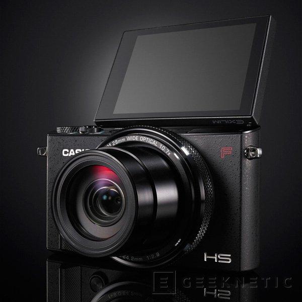 La Casio EX-100F podrá sacar ráfagas continuas de 60 fotos por segundo, Imagen 2