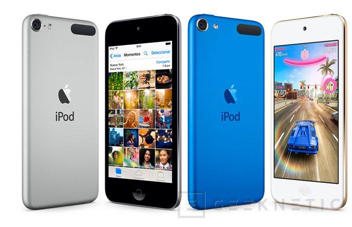 Apple actualiza el iPod Touch por sorpresa, Imagen 1