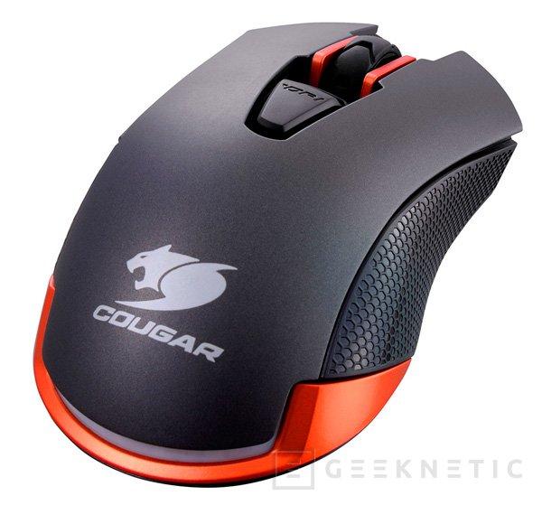 Cougar lanza el ratón gaming 550M con sensor de 6.400 DPI, Imagen 2