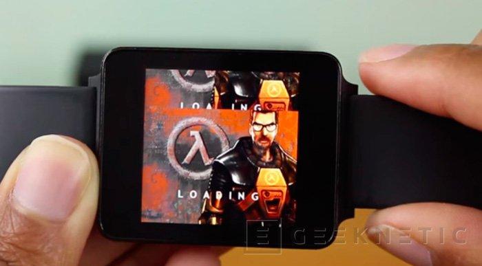 Consiguen ejecutar Half-Life en un Smartwatch, Imagen 1