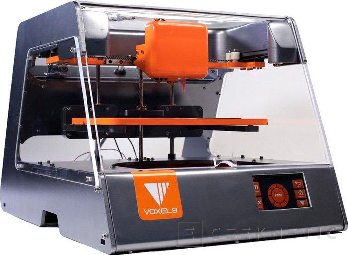 Voxel8 tiene una impresora 3D capaz de integrar circuitos en las piezas creadas, Imagen 1