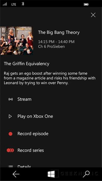 Microsoft lanzará Windows 10 para la Xbox One a finales de año, Imagen 3