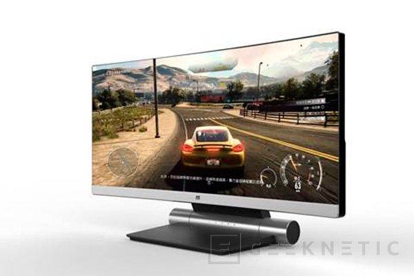 ViewSonic muestra su monitor curvo de 34