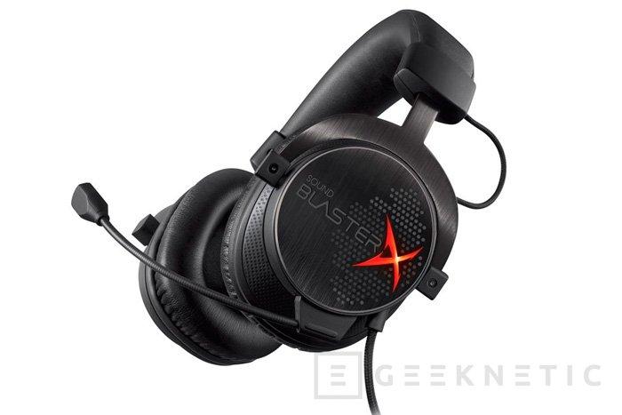 Creative Sound BlasterX H7, nuevos auriculares 7.1 para jugadores, Imagen 1