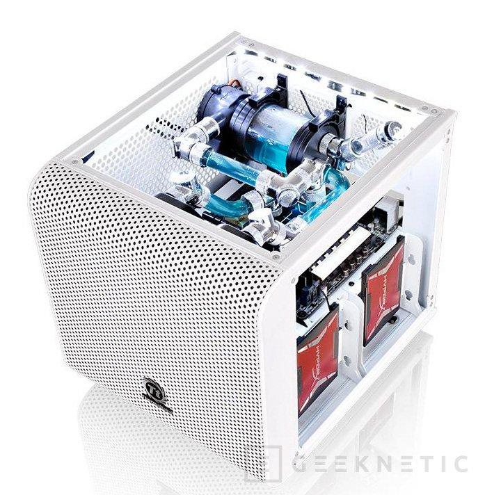Thermaltake tiñe de blanco nieve su cubo Mini ITX Core V1, Imagen 2