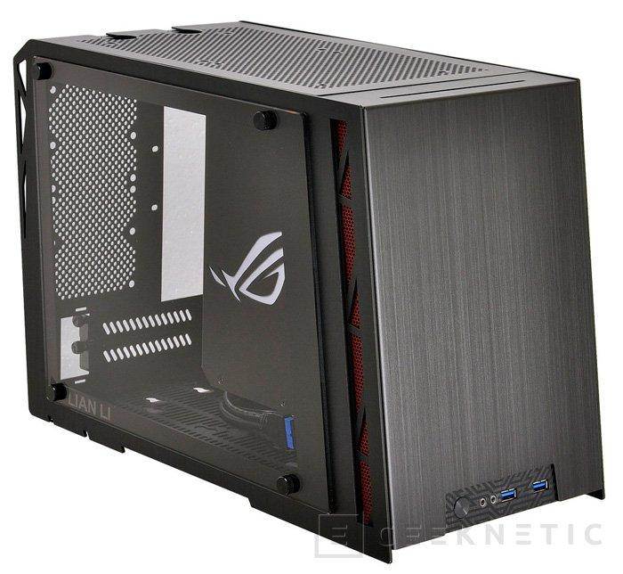 Lian Li y ASUS presentan la torre mini-ITX PC-Q17 ROG-Certified, Imagen 1