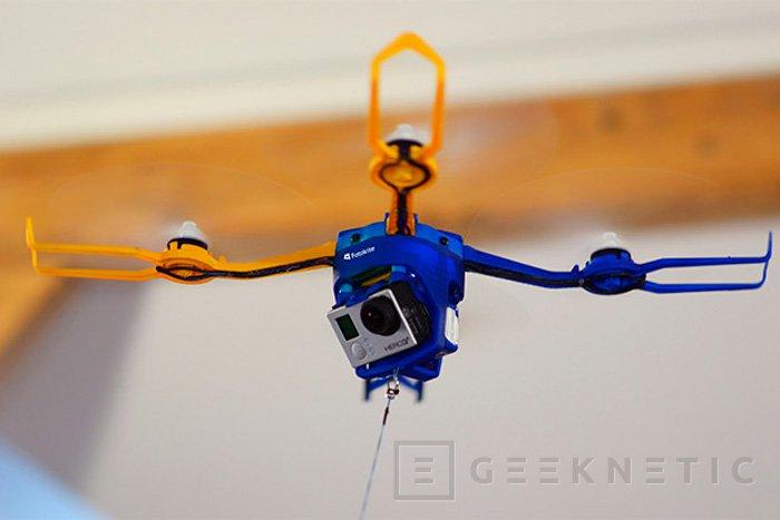 Fotokite Phi, una mezcla entre un dron y una cometa, Imagen 1