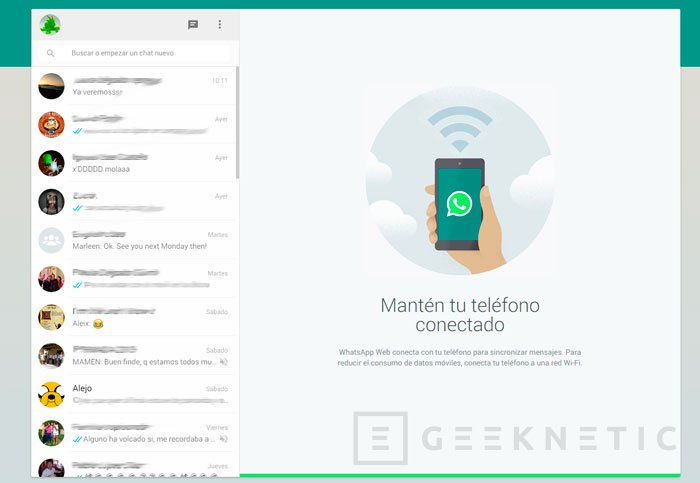 Whatsapp Web ya se puede utilizar con el iPhone, Imagen 1