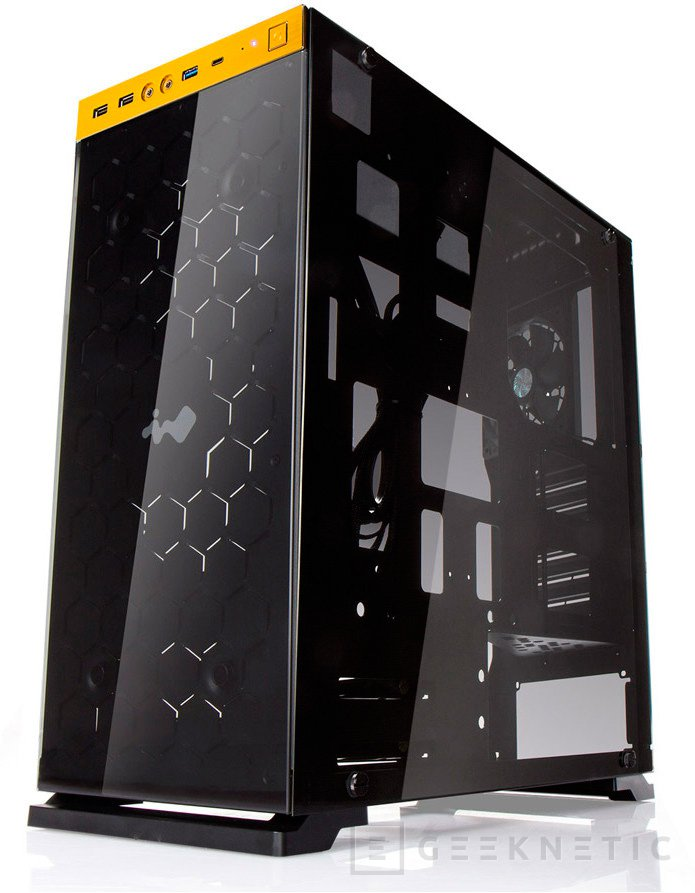 In Win 805, nueva torre ATX de aluminio y vidrio, Imagen 2