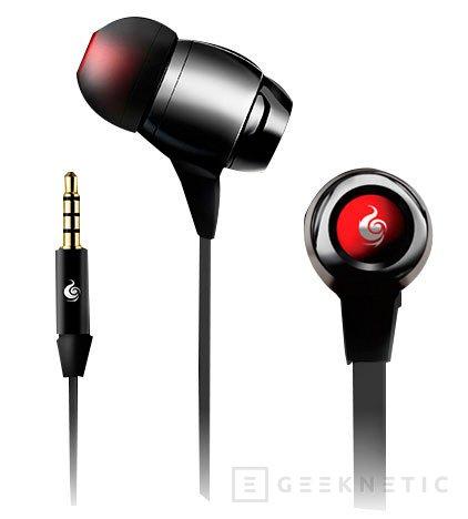 CM Storm Pitch Pro, nuevos auriculares In-Ear para jugadores, Imagen 1