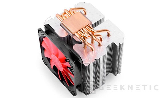 Nuevo disipador de torre DeepCool LUCIFER K2, Imagen 2