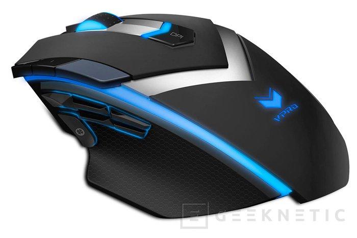 Rapoo V800S y V910, teclado y ratón RGB para jugadores, Imagen 1