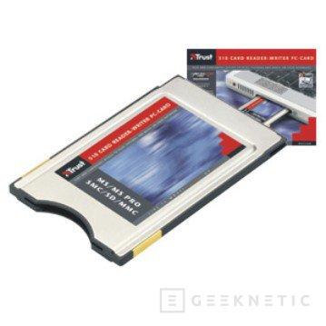 Nueva cámara multiusos y PC Card 5-en-1 de Trust, Imagen 2