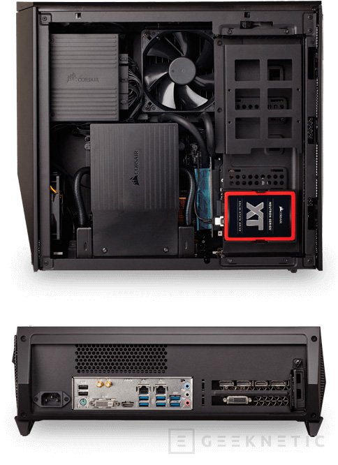 Corsair desvela la versión final de su kit Bulldog para montar un PC Gaming, Imagen 2