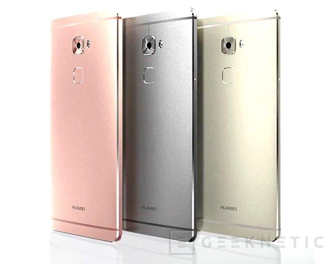 Huawei se pasa a la gama premium con su Mate S, Imagen 1