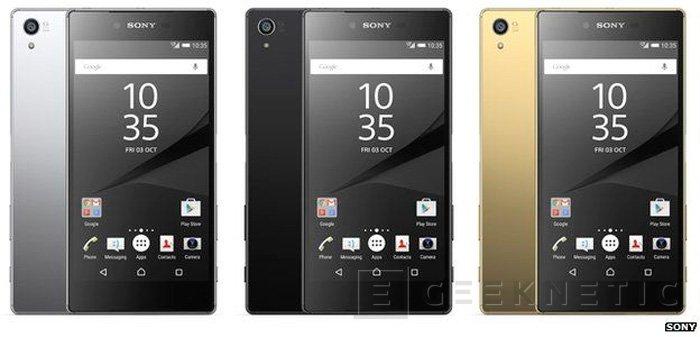 El Sony Xperia Z5 Premium es oficial con su pantalla 4K, Imagen 1