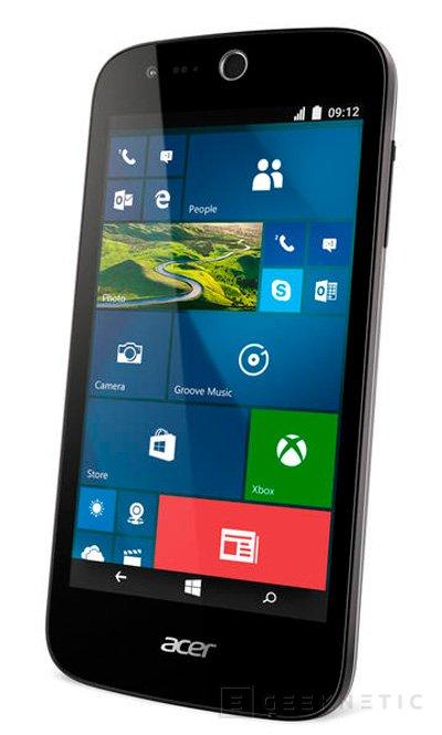 Acer también apuesta por Windows 10 Mobile en los Liquid M320 y M330, Imagen 1