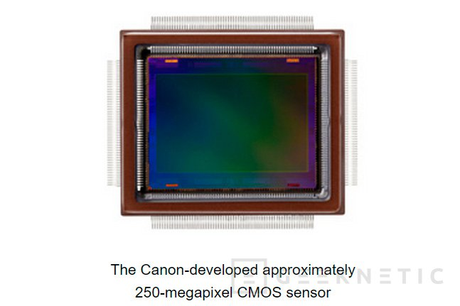 Canon desarrolla un sensor fotográfico de 247 megapíxeles, Imagen 1